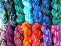 Yarn in all Colors