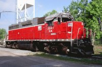 Chesapeake and Albemarle Locomotive 3841