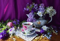 Tea with a Scent of Spring