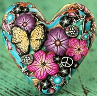 Heart Focal Bead