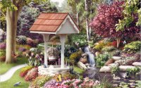 Wishing Well in the Flowers