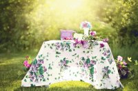Summer Display Table in Morning Dew-Still Life