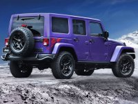 Purple Wrangler Jeep:Beep-Beep!