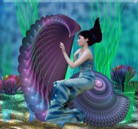 The Mermaid and Her Harp
