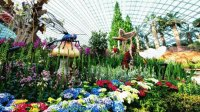 World 's Largest Glass Flower Dome-Singapore