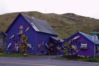 Purple Mountain House-Dutch Harbor, Alaska