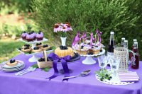 Yummy BlackBerry Treat Table