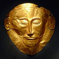 Agamemnon 's Mask, Athens, Greece