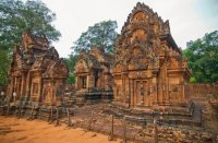 The Temple of Banteay Srei, Siem Reap, Cambodia