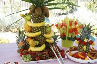 Summer Fruit Party Table