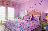 Sweet Butterfly Girly Bed Room