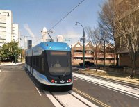 Charlotte streetcar rendition