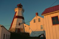 Head Harbour Lightstation at Sunset