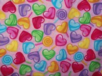 Colorful Hearts and Lollipops