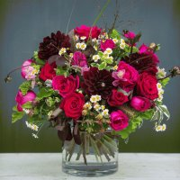 Romantic Autumn Flower Bouquet