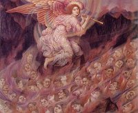 Evelyn P. DeMorgan- An Angel Piping Souls to Hell