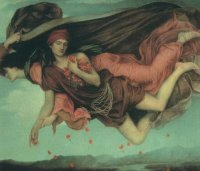Evelyn Pickering De Morgan- Night and Sleep