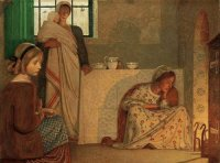Frederick Cayley Robinson -A Winter 's Evening