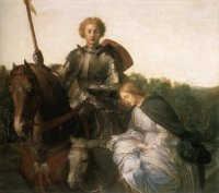 George Frederic Watts-Una and the Red Cross Knight