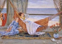 Walter Crane -In The Beach House