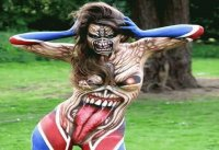 Body Paint - Iron Maiden