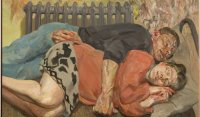 Lucian Freud-Ib and Her Husband