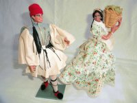 Argentine and Greek M/C Dolls ( Made in Spain)