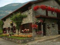 casas con flores
