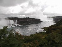 View of Canadian and American Falls