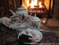 Cozy Fireside Tea
