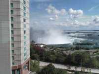 Canadian Horseshoe Falls from Canada Hotel