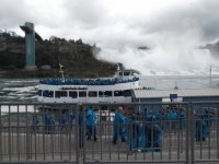 Maid of the Mist from Canada side of Niagara Falls