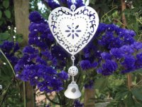 Vintage Styled Hanging Heart