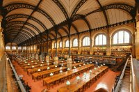Sainte Genevieve Library in Paris, France