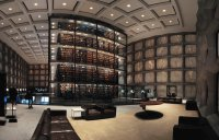 Beinecke rare book library in New Haven