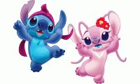 stitch y angel