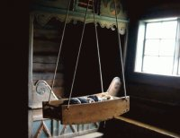 Oslo Museum - Baby Bed/swing