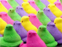 Colorful Easter Peeps