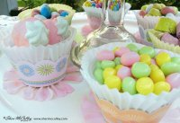 Pretty Easter Candy Display