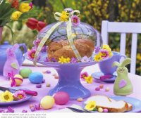 Festive Easter Party Table