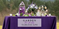 Lovely Garden Tea Party Tablescape