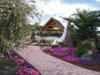 Wedding Venue at Log House Gardens-Willow Lake, OR