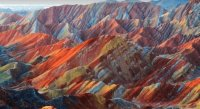 Zhangye China Landforms2