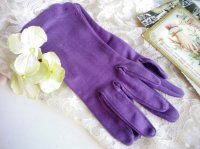 Purple Vintage Gloves
