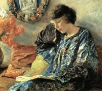 Guy rose: Margherita legge