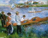 Renoir Oarsmen at chatou 1879
