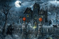 Scary Halloween Mansion
