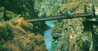 Kawarau Gorge Suspension Bridge - Bungee Jumping