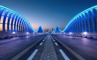 Meydan Bridge in Dubai