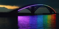 Xiying Rainbow Bridge in Penghu